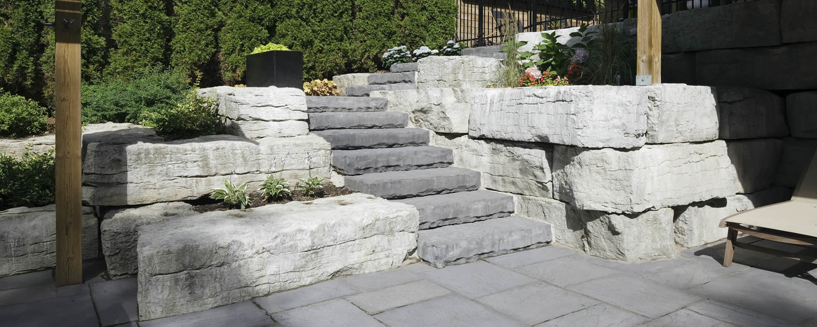 Weathered Edge Limestone™ Armour Stone